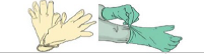 wodoszczelne rękawice